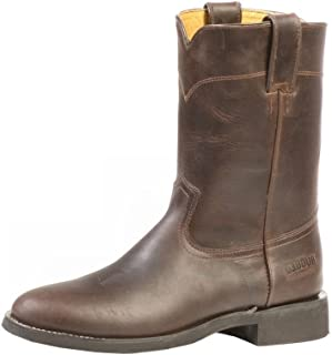 American Country bo-2506-ee–Rugged Boots Covered (Foot)–Men–Brown–Leather