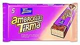 Tirma ambrosías con relleno cubiertas de chocolate con leche - 16 unidades x 107. 5 gr