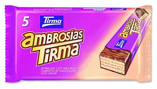 Tirma Ambrosías con Relleno Cubiertas de Chocolate con Leche -