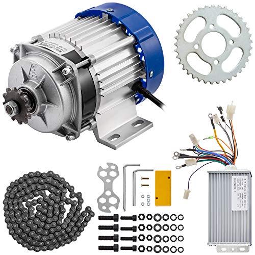 VEVOR Motor sin Escobillas Motor Eléctrico para Go Kart 48V 500W Motor...