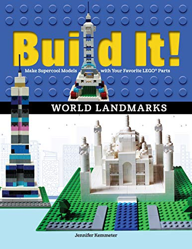 Build It! World Landmarks: Make Supercool Models with your Favorite LEGO® Parts (Brick Books) (English Edition)