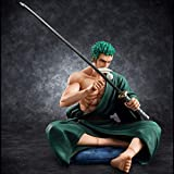 Therfk One Piece Roronoa Zoro Action Figure PVC 13cm,Collection Model Toys For with Box...