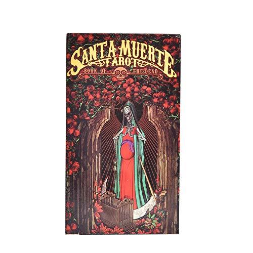 Tarot de Santa Muerte: cartas de tarot e instrucciones Libro en rústi