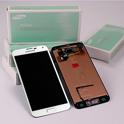Samsung Galaxy S5 SM-G900 Display-Modul Einheit weiss GH97-15734A