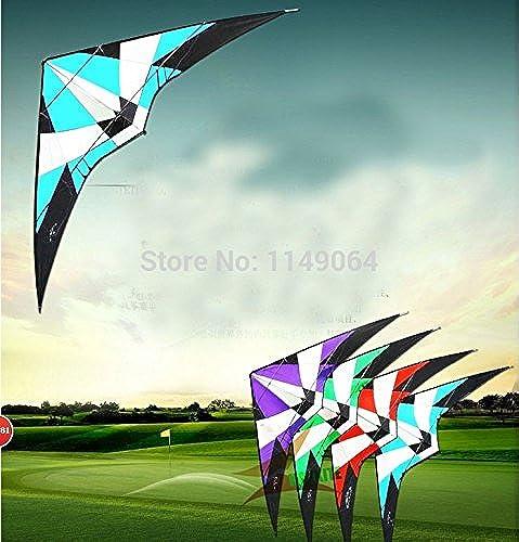FZSWD alta calidad 2.7m tormenta doble línea truco cometa con mango línea juguetes al aire libre cometas albatros volando hcxkite