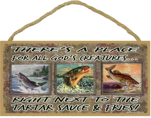 Blackwater Trading There's a Place for All God's Creatures Next to The Tartar Sauce and Fries 5