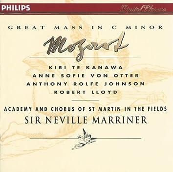 Mozart: Great Mass in C minor; Ave Verum Corpus