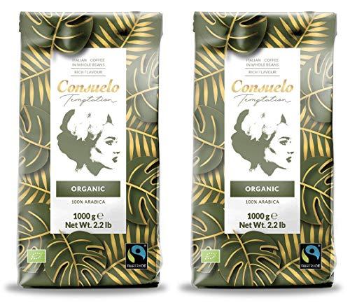 Kaffee in ganzen Bohnen, Consuelo Bio-Fairtrade - 2x1kg