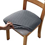 Liykimt Seat Covers for Dining Room Chairs Seat Slipcover Protector Jacquard...