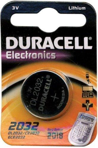 Batteria a Bottone CR1220 al litio Duracell conf. 10 Blister da 1 Pz