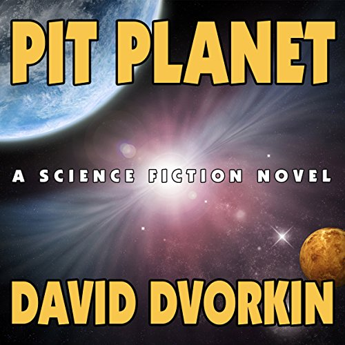 Pit Planet audiobook cover art