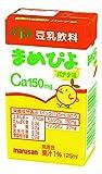 まめぴよ ココア味 1ケース 125ml×24本 カルシウム強化(150mg含有) (バナナ味)