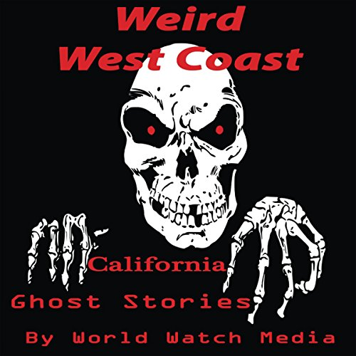 Weird West Coast audiobook cover art