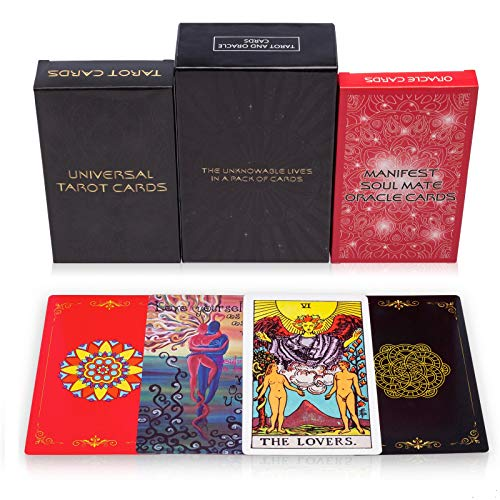 MandAlimited Tarot Cards Deck and Manifest — Soul Mate Oracle Cards