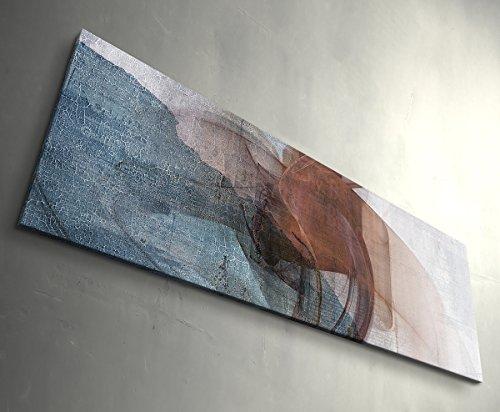 Tschick - original Paul Sinus Enigma - Abstrakter Kunstdruck - Leinwandbild - Wandbilder XXL - tolle Qualität aus Deutschland 150x50cm