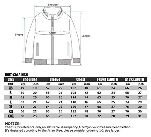 Reebow Gear Militaer Taktische Softshell Jacke outdoor Fleece Kapuzenjacke Gruen ATACS Camo XL - 2