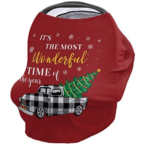 New Baby Stroller Cover Breastfeeding Nursing Shawl, Soft Breathable Breastfeeding Towel for Infant ...