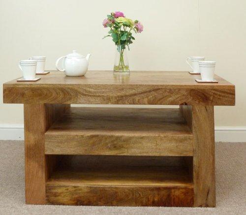 Mercers Furniture Mantis Solid Mango Wood TV Unit/Coffee Table