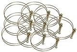 Abrazadera de manguera de alambre Steelex, 2-1/2 pulgadas, paquete de 10