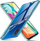 ivencase für Samsung Galaxy A41 Hülle Transparent, Crystal Silikon Schlank Transparent TPU [Anti-Gelb] Durchsichtige Schutzhülle Hülle Superdünnen Hülle passt Samsung Galaxy A41 Handyhülle