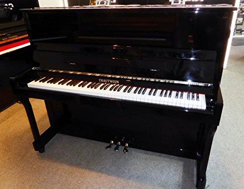 TRAUTWEIN Klavier Modell KLASSIK II Chrom - schwarz poliert - 1 Jahre gebraucht