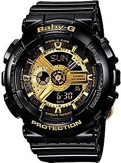 Casio Baby-G Women's Black Dial Resin Band Watch - BA-110-1ADR, Analog, Quartz