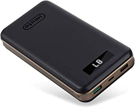 USB C Power Bank imuto 27000mAh Portable Charger with Quick Charge 3.0 and LCD Digital Display, 3 USB Ports Battery Pack for Samsung Galaxy, iPhone, Nintendo Switch, USB Type-C Devices and More