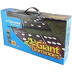28 lightweight dominoes Ideal for two or more players Ideal garden fun for all the family