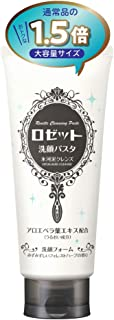 【Amazon.co.jp 限定】大容量 ロゼット 洗顔パスタ 氷河泥クレンズ 180g