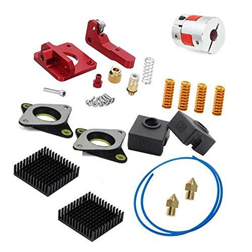 Springs Extruder Sock Tube Stepper Dampers Heatsinks Coupler Upgrade Kits for Creality Ender 3 3D Printer