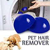 Pet Hair Remover Reusable Lint Removal Washing Machine Fur Dogs and Cats Hair...