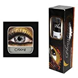 Kontaktlinsen ''Cyborg'' | Karneval | Fasching | Motivlinsen | ohne Stärke | Eyecatcher | Accessoire | Kostüm | Geschenkidee | Tageslinsen | Preis am Stiel®
