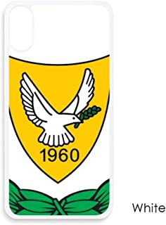 Cyprus National Emblem Country for iPhone XS Max Cases White Phonecase Apple Cover Case Gift