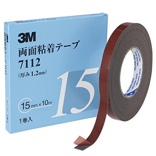 3M 両面粘着テープ 7112 15mm幅x10m 7112 15 AAD