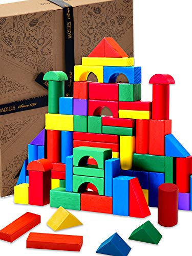 Jaques of London Wooden Building Blocks for Kids...