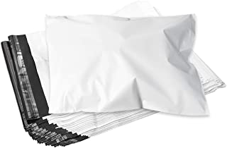 宅配ビニール袋 [梱包コン太くん] A3サイズ 厚手 new 強粘着テープ付き 大ボリューム100枚 軽量 破れない 耐久性 耐水性 幅320mm×深さ410mm×フタ45mm (100枚)