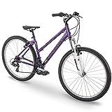 27.5' Royce Union RMT Womens 21-Speed All-Terrain Mountain Bike, 17' Aluminum Frame, Twist Shift, Eggplant Purple