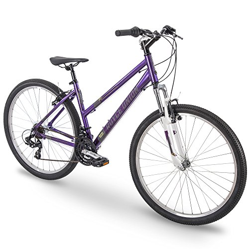 27.5' Royce Union RMT Womens 21-Speed All-Terrain Mountain Bike, 15' Aluminum Frame, Twist Shift, Eggplant Purple