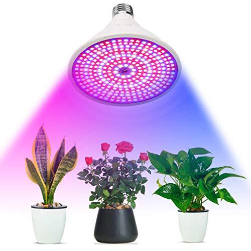 Planta del LED de una sola cabeza crece la luz, 290 LED Full Spectrum Spectrum crecimiento de las plantas bulbos de lámpara de interior semillas de flor de cultivos de invernadero Phyto Clip Holder