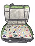 Kids Travel Tray - Essential 3 in 1 Convenient Convertible Car Seat Travel