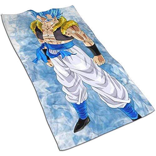 Saiyajin Soft Super Absorbent sneldrogende handdoek badhanddoek strandlaken - 27,5 x 17,5 inch