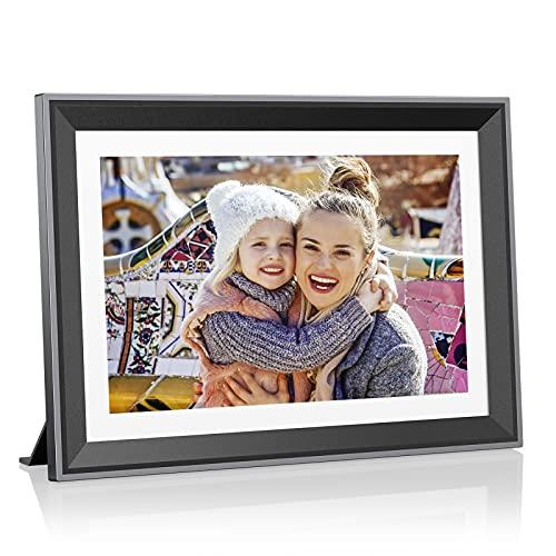 Atatat 32GB WiFi Digital Picture Frame 10.1 inch,...