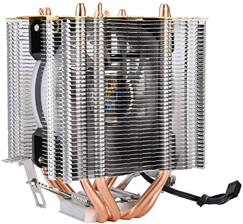 Homeriy Ice Tower Type CPU Cooler Copper CPU Radiator Water Disipador de Calor CPU Ventilador de Refrigeración con Soporte para Core2duo Celeron Pentium4 Pentiumd