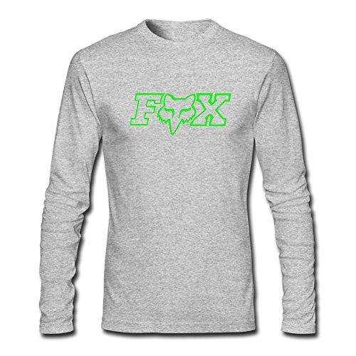 Fox Racing Logo para 2016niños niñas Impreso Manga Larga Tops Camisetas