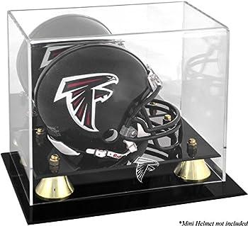 Atlanta Falcons Mini Helmet Display Case - Football Mini Helmet Free Standing Display Cases