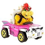 Hot Wheels Bowser Super Mario Kart Character Car Diecast 1:64 Scale