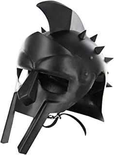 Maximus Roman Gladiator Blackened 18g Helmet