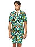 Suitmeister - Traje de fiesta de verano para hombre con estampados...