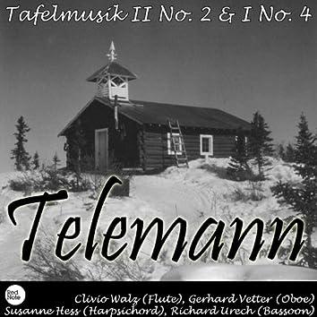Telemann: Tafelmusik II No. 2 & I No. 4