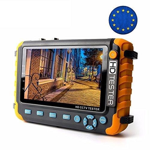 Best Deals! DiySecurityCameraWorld- 5 Inch CCTV Tester Monitor IV8W 5MP AHD 5MP TVI 4MP CVI CVBS Ana...